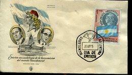 EMISION RECORDARTORIA DE LA TRANSMISION DEL MANDO PRESIDENCIAL 1958  SOBRE ARGENTINA  ZTU. - Buenos Aires (1858-1864)