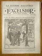 Excelsior N°1468 22/11/1914 Joffre à Son Quartier Général - Marche Des Armées Russe En Pologne - Nieuport - Lord Roberts - Journaux - Quotidiens