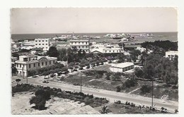 MAROC - FEDALA - FEDHALA - MOHAMMEDIA - VUE AÉRIENNE GÉNÉRALE VERS LE PORT  - CPSM DENTELÉE - FORMAT CPA - Maroc