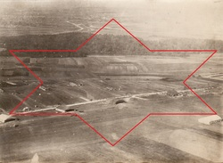 Photo Aérienne 1918 JULVECOURT (près Clermont-en-Argonne) - Le Camp D'aviation (A170, Ww1) - Unclassified