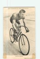 Victor DUPRE , Champion Pneu Hutchinson - En L' état - 2 Scans - Cycling