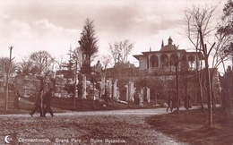 Turkey - Constantinople Grand Parc - Ruine Byzantine - Turchia