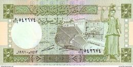 SYRIE 5 LIVRES SYRIENS 1991 P-100e NEUF [SY616e] - Syria