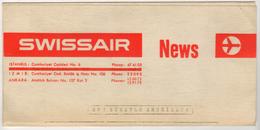 SWISSAIR NEWS DOCUMENT - Timetables
