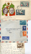 21377  Iran,  3 Differents Cards/covers Circuled To Italy - Iran
