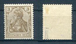 Deutsches Reich Michel-Nr. 69 Plattenfehler I Ungebraucht - Geprüft