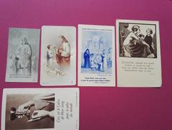 Ancienne Image Pieuse Religieuse  Canivet Dentelle - Religion & Esotericism