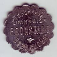 Monnaie De Nécessité - LOIRE 42 - St Chamond - Brasserie Lyonnaise - E. Constant - 5 Centimes - Monétaires / De Nécessité