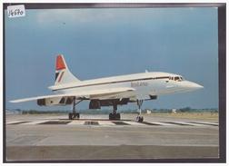 FORMAT 10x15cm - AVION CONCORDE DE BRITISH AIRWAYS - TB - 1946-....: Era Moderna