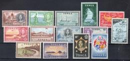 Tonga 1953 -- Ordinaria Yvert 100/13  -- **MNH / VF - Tonga (1970-...)