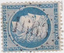 N° 60 A  GC  1663    GIVRY PRES L'ORBIZE     /   SAONE ET LOIRE    -  REF 10009 + VARIETE SUARNET N° 108 - 1871-1875 Ceres