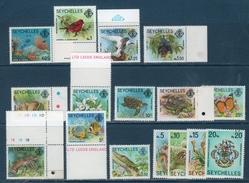 Seychelles  1977 -- Fauna E Flora   Yvert 372/87  -- **MNH / VF - Seychelles (1976-...)