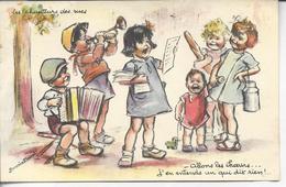 Les Chanteurs Des Rues - Allons Les Choeurs...j'en Entends Un Qui Dit Rien! - Bouret, Germaine