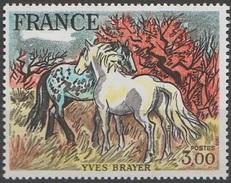 France 1978 N° 2026 NMH Yves Brayer (E8) - Unused Stamps