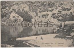 Switzerland - Schwarzer See - Lac Noir - Advertise - Alpinisme
