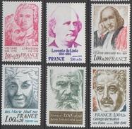 France 1978 N° 19986-1990A NMH Célébritées (E8) - France