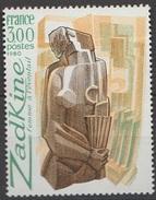 France 1979 N° 2074 NMH Femme à L'éventail De Zadkine (E8) - Unused Stamps