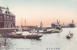 26203 JAPON JAPAN YOKOHAMA West Hatoba -TBE Colorisée - Yokohama