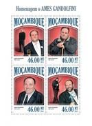 MOZAMBIQUE 2013 SHEET JAMES GANDOLFINI CINEMA ACTORS CINE ACTORES Moz13410a - Mozambique