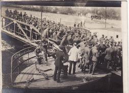 Photo 14-18 Soldats Américains Au Bord Du Rhin (A170, Ww1, Wk 1) - Guerre 1914-18