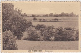 LES VILETTES-PANORAMA-EDITEUR-EMILE ALBERT-CARTE ENVOYE-1948-VOYEZ 2 SCANS-RARE ! ! ! - Lierneux
