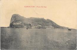 GIBRALTAR FROM THE BAY 1920 - Gibilterra