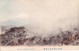26205 JAPON JAPAN Fuji From Owakidani -hakone -TBE Colorisée - Giappone