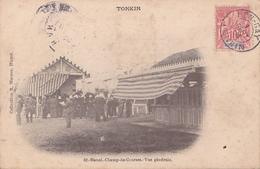 26207 VIET NAM - TONKIN  -Hanoi Champ De Courses -vue Generale -coll R Moreau 62 -timbre 10c - Viêt-Nam