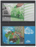 BOSNIA, 2016, MNH, EUROPA, THINK GREEN, BICYCLES, WIND ENERGY,TREES,MOUNTAINS, CARS, POLLUTION, 2v - Europa-CEPT