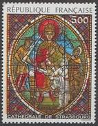 France 1985 N° 2363  NMH Vitrail De La Cathédrale De Strasbourg (E10) - France