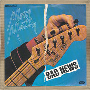 "7"" Single, Moon Martin, Bad News - Disco, Pop"