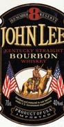 Étiquettes - JOHN LEE - BOURBO - Whisky