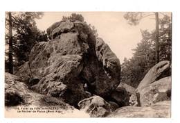 77 - FORÊT DE FONTAINEBLEAU . LE ROCHER DE PLUTUS . (MONT AIGU) - Réf. N°1993 - - Fontainebleau