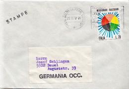 Postal History Cover:  Italy - Religions