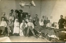 CROIX ROUGE(HOPITAL MILITAIRE) CARTE PHOTO - Rotes Kreuz