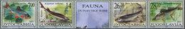 Yugoslavia 2002 Animals - Fauna - Danube Fish, MNH (**) Michel 3072-3075 - 1992-2003 Federal Republic Of Yugoslavia