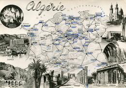 Carte Géographique De L'ALGERIE Adressé à Soldat Du 18 ème Régiment RIPC - Altri