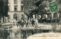 CROIX ROUGE(HOPITAL MILITAIRE) VINCENNES - Croix-Rouge