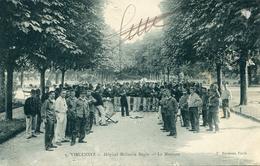 CROIX ROUGE(HOPITAL MILITAIRE) VINCENNES(MUSIQUE) - Rotes Kreuz