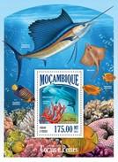 MOZAMBIQUE 2013 SHEET CORALS CORALES CORAUX CORAIS KORALLEN CORALLI FISHES POISSONS PECES PEIXES MARINE LIFE Moz13506b - Mozambique