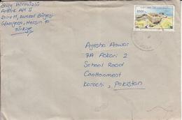 Turkey Air Mail Cover To Pakistan,     ( X- 70) - 1921-... Republic