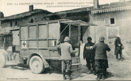 CROIX ROUGE(CAMION) MONTZEVILLE - Red Cross