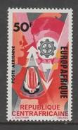 TIMBRE NEUF DE REP. CENTRAFRICAINE - ANNIVERSAIRE DE L´ASSOCIATION ECONOMIQUE EUROPAFRIQUE N° Y&T PA 42