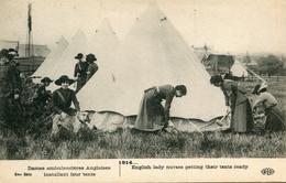 CROIX ROUGE(AMBULANCIERE ANGLAISE) - Red Cross