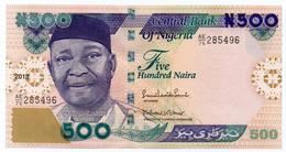 #07. NIGERIA. 500 NAIRA. 2013. UNC / NEUF. - Nigeria
