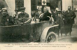 CROIX ROUGE(MADAME MACHEREY) SOISSONS(AUTOMOBILE) - Croix-Rouge
