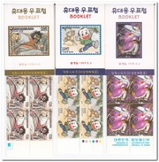 Zuid Korea 1999, Postfris MNH, Comics, Booklet - Corée Du Sud