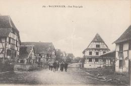 Balchwiller 68 - Rue Principale - Edition Chadourne Belfort - Non Classés