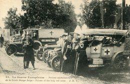 CROIX ROUGE(AMBULANCIER) AUTOMOBILE - Croix-Rouge