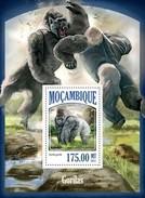MOZAMBIQUE 2013 SHEET GORILLAS GORILLES GORILAS MONKEYS PRIMATES SINGES MONOS AFFEN MACACOS WILDLIFE Moz13514b - Mozambique